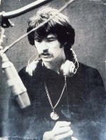 Alan Brackett in the studio