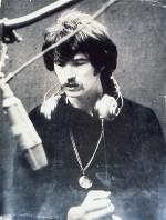 Alan Brackett in the studio