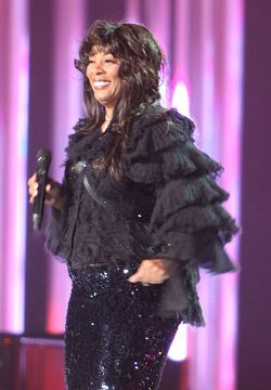 Donna Summer performing at the Nobel Peace Price Concert, 2009