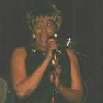 Betty Harris in recording session