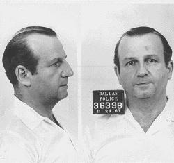 Jack Ruby mugshot 1963