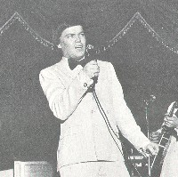 Billy Maybray with the Jaggerz in concert.
