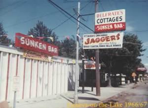 The Sunken Bar at Geneva On The Lake, Ohio.